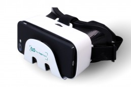 branded plastic vr glasses printed