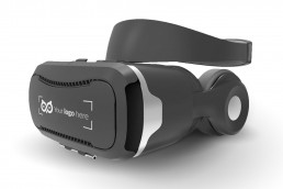 branded plastic vr glasses with logo